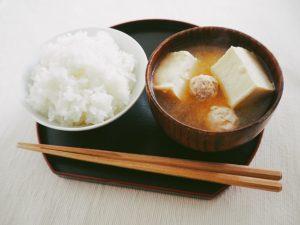 豆腐と鶏肉団子