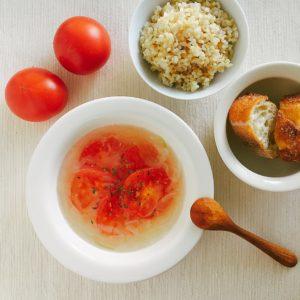 塩だけトマトスープ